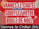 Soufflez votre Boule de Noël à Vannes-le-Châtel 2018