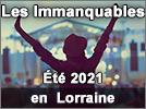 Quels événements été 2021 en Lorraine 2021