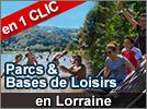 Les Parcs et Bases de loisirs en Lorraine