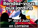 Les Rendez-Vous aux Jardins en Lorraine 2018