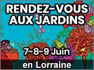 Rendez-Vous aux Jardins en Lorraine et Grand-Est 2019