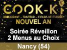 Réveillon cook-ki Nancy