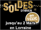 Soldes d'Hiver en Lorraine 2021