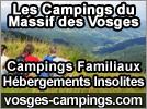 Hébergements Vosges Campings 2020