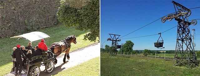 JEP 2020 Circuits extérieurs Balade en calèche Longwy - Balade contée Carrières de Slovay en Lorraine