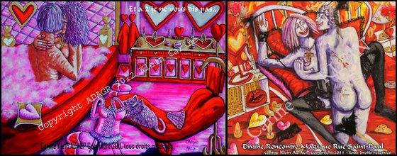 Oeuvres Originales Artiste Lorraine Carine Klein