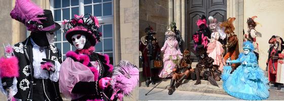Carnaval vénitien remiremont vosges