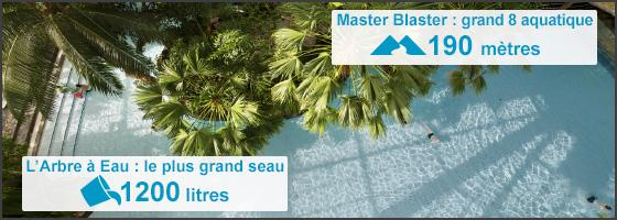 Aqua mundo du Center Parcs Trois Forêts