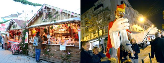 Village Noël Saint Nicolas à Epinal