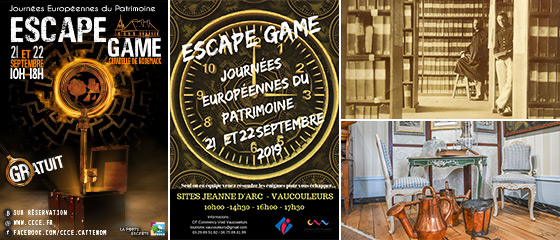 JEP 2019 Escape Games
