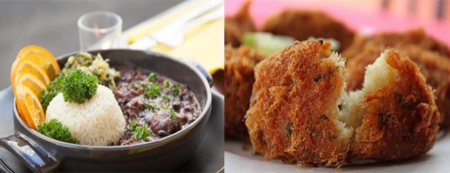 Restaurant le Colibri les plats brésilien et antillais