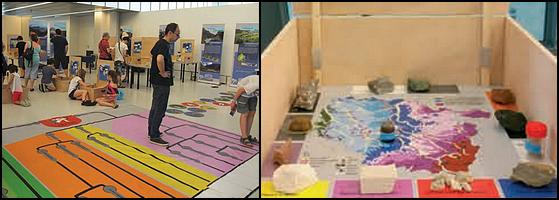 Exposition Géologiques, sur les pas d'un géologue Andra Meuse/Haute-Marne