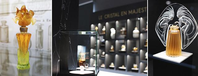 Exposition Le Flacon en majesté au Pôle Bijou de Baccarat