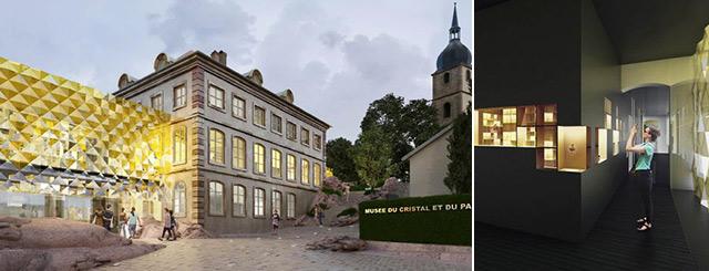 futur musée du flacon de parfum Baccarat