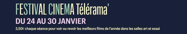 Festival cinema telerama 2018