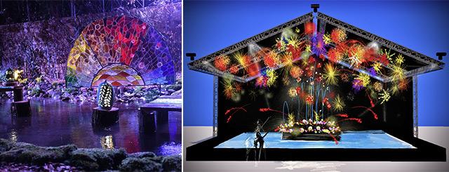 Folie Flore parc Expo Mulhouse2021
