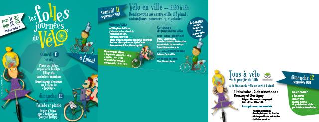 Les Folles Jounrées du Vélo programme 2021