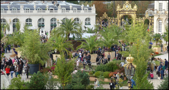 jardin éphémère Nancy 2017