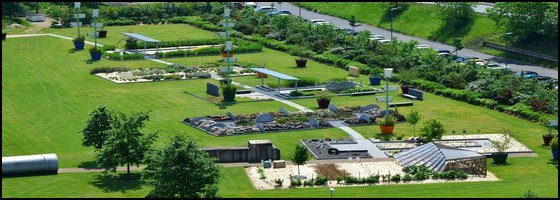 Jardin des Traces à Uckange