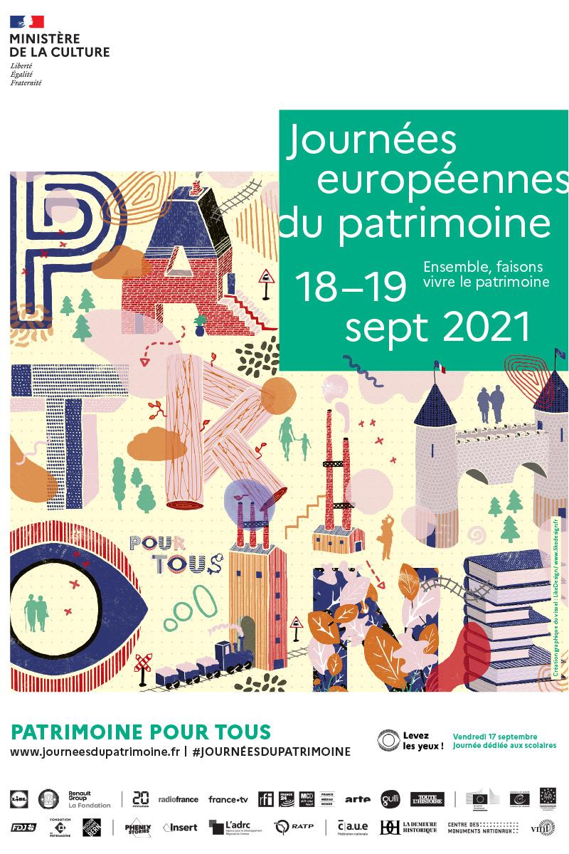 JEP 2021 : Journées du Patrimoine à Jainvillotte 88300 Jainvillotte du 18-09-2021 à 09:00 au 19-09-2021 à 18:00