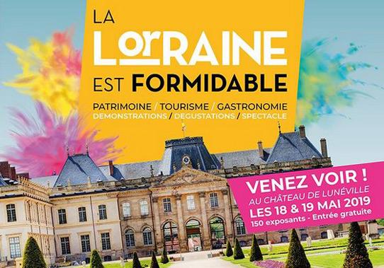 La Lorraine est Formidable Lunéville 2019