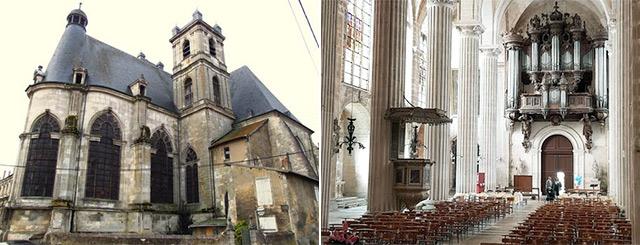 Loto du Patrimoine Abbatiale Saint-Michel à Saint-Mihiel Meuse Lorraine Grand Est