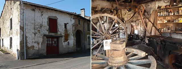 Loto du Patrimoine Ancien atelier de charron à Bouxurulles Vosges Lorraine Grand Est