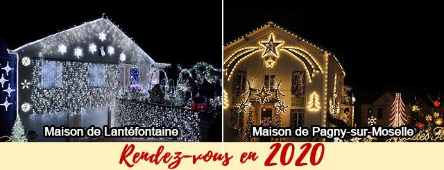 Maison Illuminée lantefontaine pagny sur moselle 2019