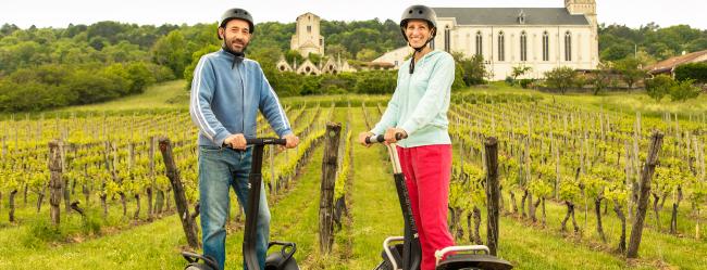 Maison du Tourisme Toul Saison estivale 2019 Entre Vignes et Patrimoine en gyropode