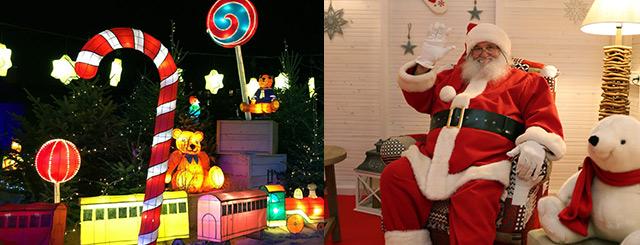 Marché de Noël Sarreguemines Animations Père Noël