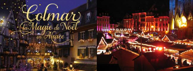 Marchés de Noël en Alsace 2017