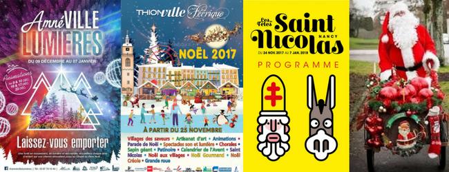 Marchés de Noël en Lorraine 2017