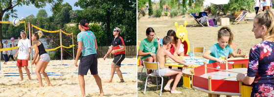 Metz Plage 2019 les animations