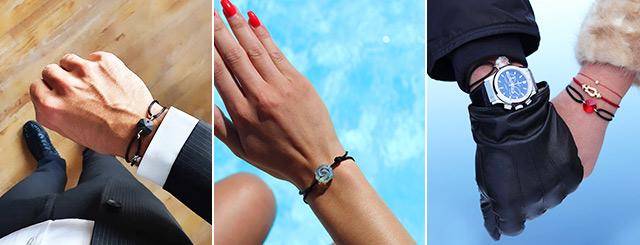 Idée Cadeau : Bracelets Michael Vessière Baccarat Lorraine