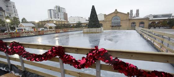 patinoire de Noël en Lorraine