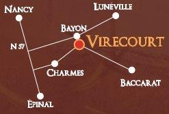Plan Fête médiévale Virecourt