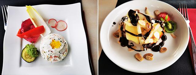Restaurant Les Têtes Brûlées Plats Tomblaine Lorraine