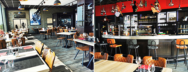 Restaurant Les Têtes Brûlées Salle intérieur ambiance cosy 2021 Lorraine