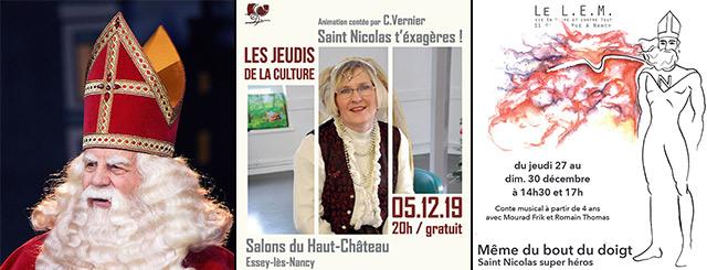 Saint-Nicolas Super Héros 2019