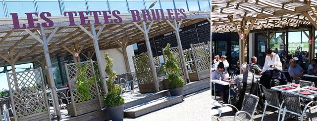 Restaurant Les Têtes Brûlées Terrasse Tomblaine Lorraine