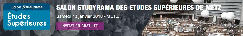 Salon Studyrama Metz Études Supérieures