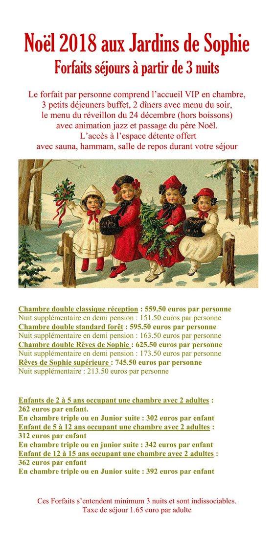 Séjour Noël Vosges
