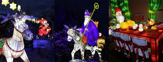 Sentier des Lanternes à Metz Marché de Noël en Lorraine