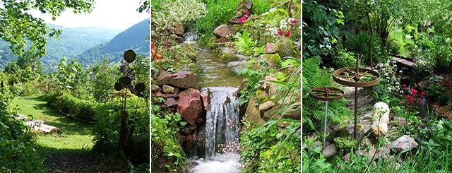 Jardin et Objets des Panrées de Cornimont 2020 Vosges Lorraine