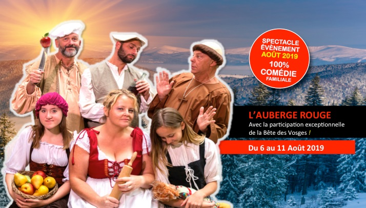 Spectacle Auberge Rouge 2019