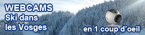 Webcams ski vosges