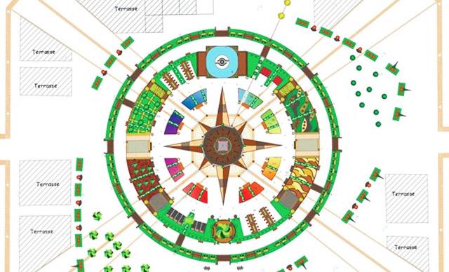 Jardin Ephémère Nancy 2020 Place Stanislas Terre ou Désert