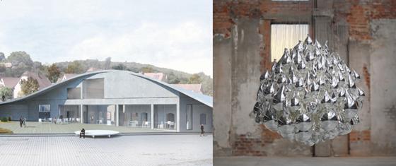 Meisenthal nouveau batiment centre art verrier 2021