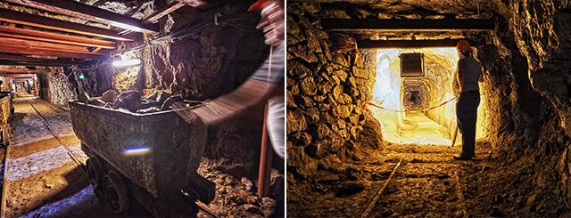 Visites de mines de fer Neuves Maisons Lorraine Grand Est