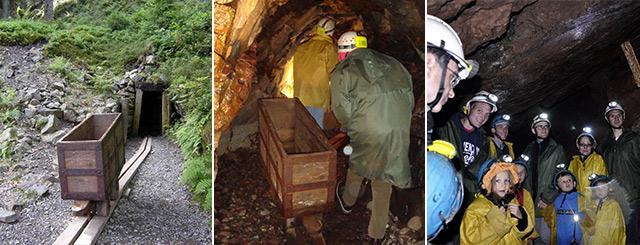Visites de mines aux Hautes-Mynes du Thillot Lorraine Grand Est